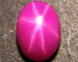 CAB TREATED STAR RUBY $5.00 PER CARAT  3.55 CT RM 586