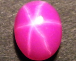 CAB TREATED STAR RUBY $5.00 PER CARAT  3.75 CT RM 589