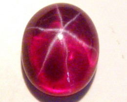 CAB TREATED STAR RUBY $5.00 PER CARAT  2.85 CT RM 591