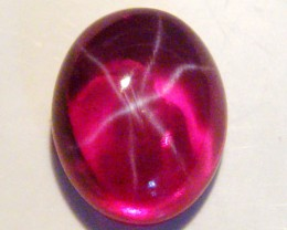 CAB TREATED STAR RUBY $5.00 PER CARAT  4.95 CT RM 601