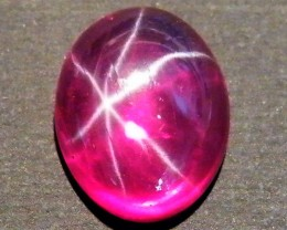CAB TREATED STAR RUBY $5.00 PER CARAT  4.95 CT RM 608