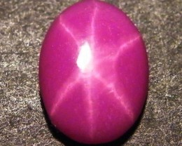 CAB TREATED STAR RUBY $5.00 PER CARAT  3.95 CT RM 635