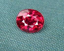 IF-VVS AAAA+ Firey Red Ruby Gemstone D1888