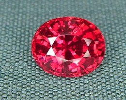 IF-VVS AAAA+ Firey Red Ruby Gemstone D1892