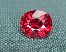 IF-VVS AAAA+ Firey Red Ruby Gemstone D1896