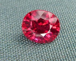 IF-VVS AAAA+ Firey Red Ruby Gemstone D1897
