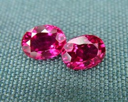 IF-VVS AAAA+ Firey Red Ruby Gemstone D1902