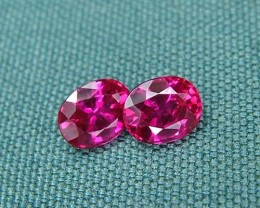 IF-VVS AAAA+ Firey Red Ruby Gemstone D1904