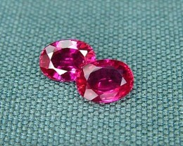 IF-VVS AAAA+ Firey Red Ruby Gemstone D1909