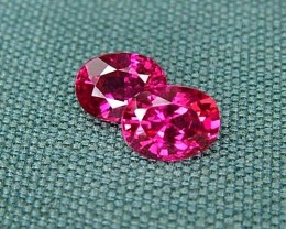 IF-VVS AAAA+ Firey Red Ruby Gemstone D1910