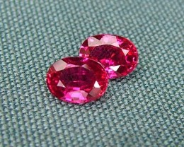 IF-VVS AAAA+ Firey Red Ruby Gemstone D1912