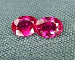 IF-VVS AAAA+ Firey Red Ruby Gemstone D1914