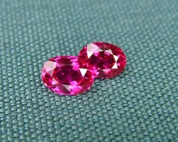 IF-VVS AAAA+ Firey Red Ruby Gemstone D1915