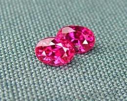 IF-VVS AAAA+ Firey Red Ruby Gemstone D1922