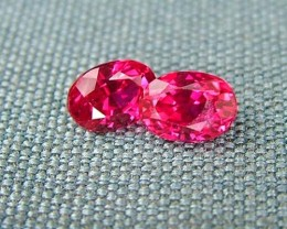 IF-VVS AAAA+ Firey Red Ruby Gemstone D1925