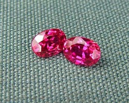 IF-VVS AAAA+ Firey Red Ruby Gemstone D1929
