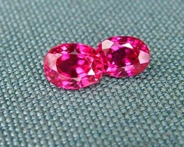 IF-VVS AAAA+ Firey Red Ruby Gemstone D1932