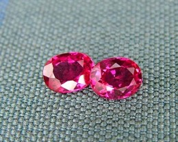 IF-VVS AAAA+ Firey Red Ruby Gemstone D1934