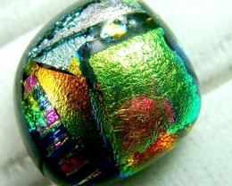 DICHROIC GLASS NEON COLOURS  10 CTS MA-8