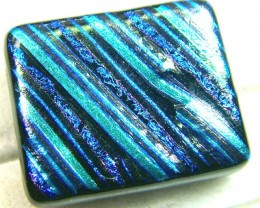 DICHROIC GLASS NEON COLOURS  24 CTS MA-10