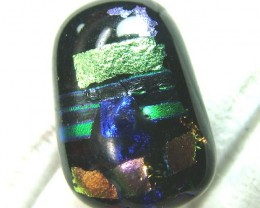 DICHROIC GLASS NEON COLOURS  11 CTS MA-18