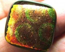 DICHROIC GLASS NEON COLOURS  14.90 CTS MA-11