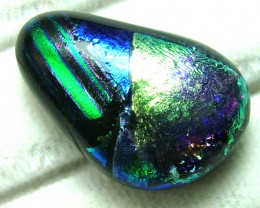 DICHROIC GLASS NEON COLOURS  11 CTS MA-2