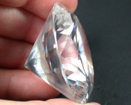 FREE SHIP HUGE GEM DISPLAY LAB ZIRCON 376 CARATS CTS GW 500