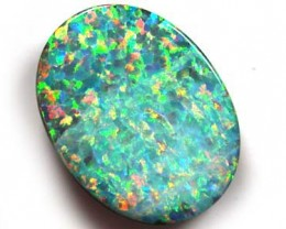 MAN MADE DOUBLET GEM WITH NATURAL POTCH 16.2CTS G2327