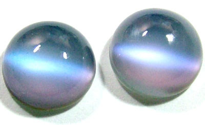 QUARTZ DOUBLET STONE (2PCS ) 7.30 CTS FCG-3560 (CO-GR)