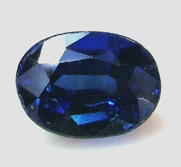 SAPPHIRE DOUBLET FACETED  1.30  CTS AS-A607