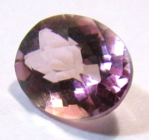 QUARTZ -DOUBLET FACETED 2.55 CTS FP-605 (PG-GR)