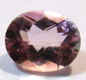 QUARTZ- DOUBLET FACETED 2.45 CTS FP-609 (PG-GR)