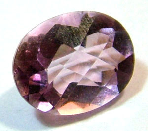 QUARTZ -DOUBLET FACETED 2.55 CTS FP-608 (PG-GR)