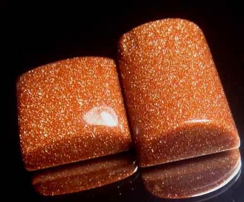 Sparkingly Golden Galaxy Sun Sitara Stone A661