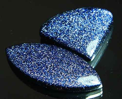 Sparkingly Blue Galaxy Sun Sitara Stone A648