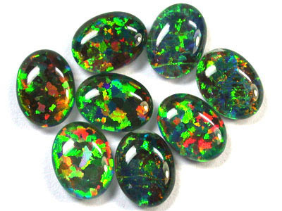 BRILLIANT LAB OPAL PARCEL  8X6 MM EACH RN 1505