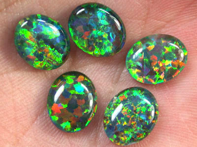 BRILLIANT LAB OPAL PARCEL 10 X 8  MM EACH RN 1521