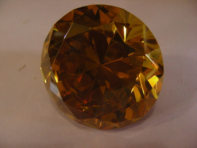 434 CTS  YELLOW GOLDEN TOPAZ 11124