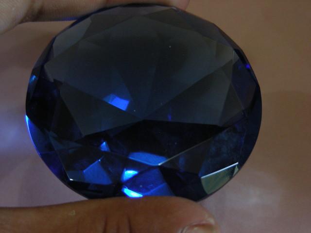428 CTS  FANCY DISPLAY GEMSTONE PEACOCK BLUE SAPPHIRE 11132