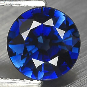 VERY NICE ROYAL BLUE VERNEUIL SAPPHIRE ROND 10 MM