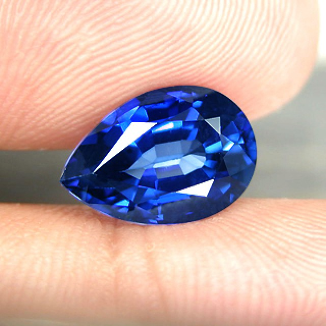 cornflower pinterest gemas blue pin unheated sapphire gems