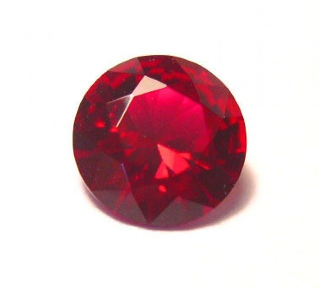 HIGH QUALITY ROUND PIGEON BLOOD RED VERNEUIL RUBY 12mm