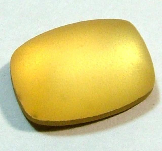 GOLDEN QUARTZ-DOUBLET  7.35CTS   MA-37