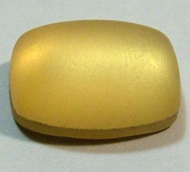 GOLDEN QUARTZ-DOUBLET  7.9  CTS   MA-38