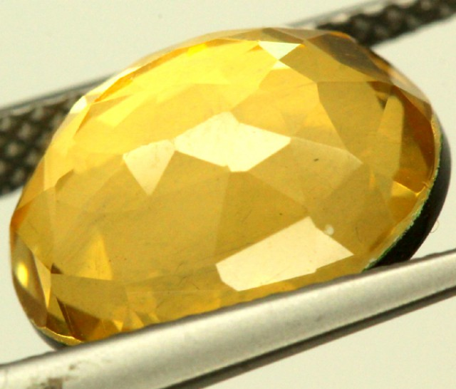 GOLDEN QUARTZ-DOUBLET 3.95   CTS   MA-65
