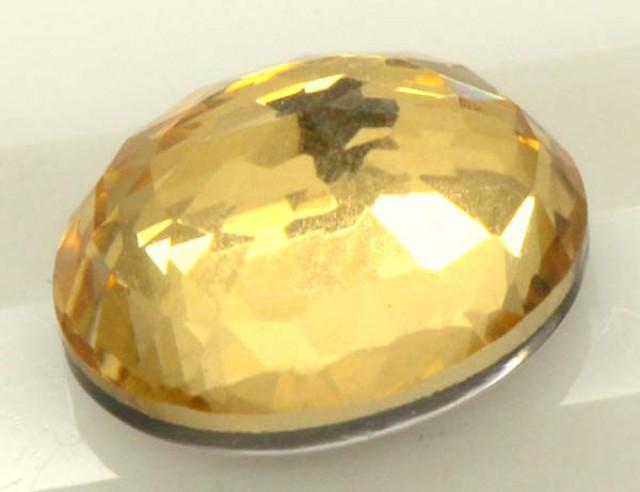 GOLDEN QUARTZ-DOUBLET  4.05  CTS   MA-69