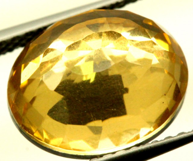 GOLDEN QUARTZ-DOUBLET   3.85 CTS   MA-71