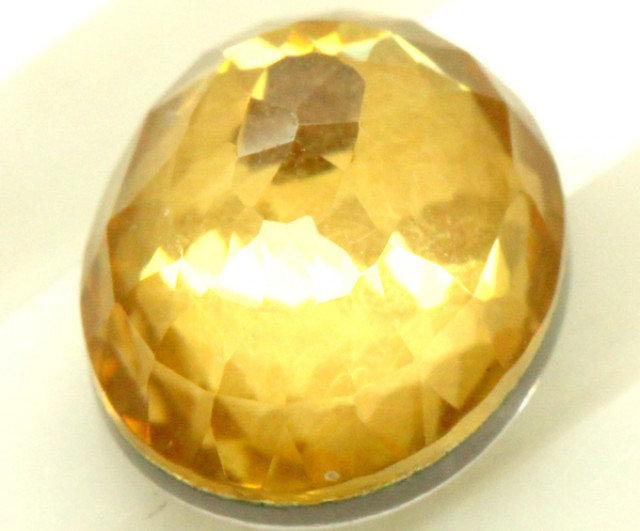 GOLDEN QUARTZ-DOUBLET 3.75   CTS   MA-73