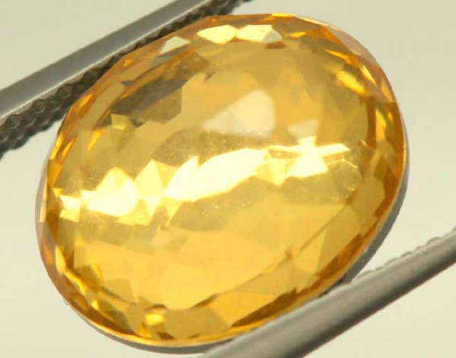 GOLDEN QUARTZ-DOUBLET 3.85   CTS   MA-86